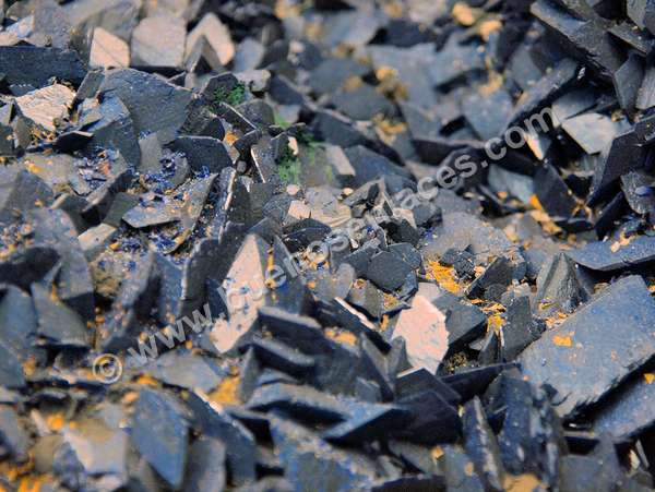 fotos de minerales, 5: azurita