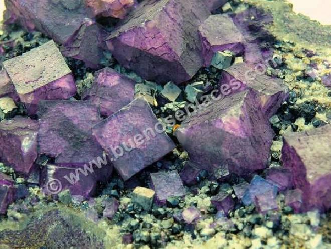 fluorita violeta