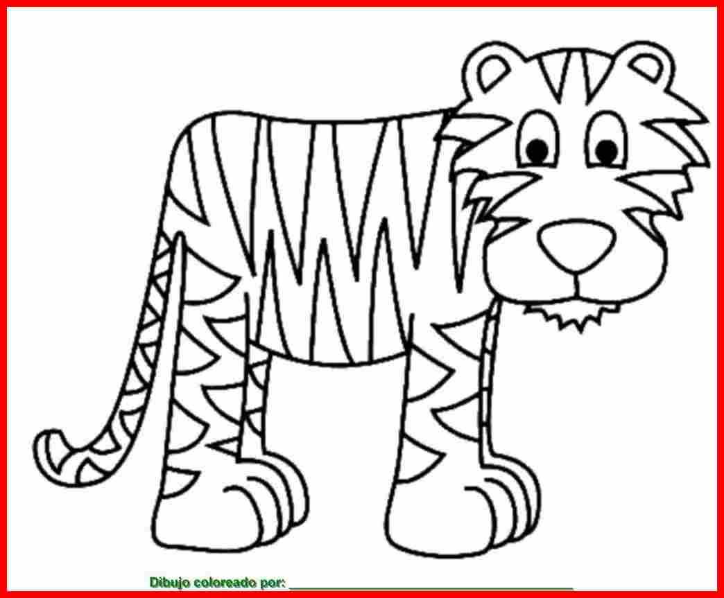 dibujo de animal para colorear e imprimir.