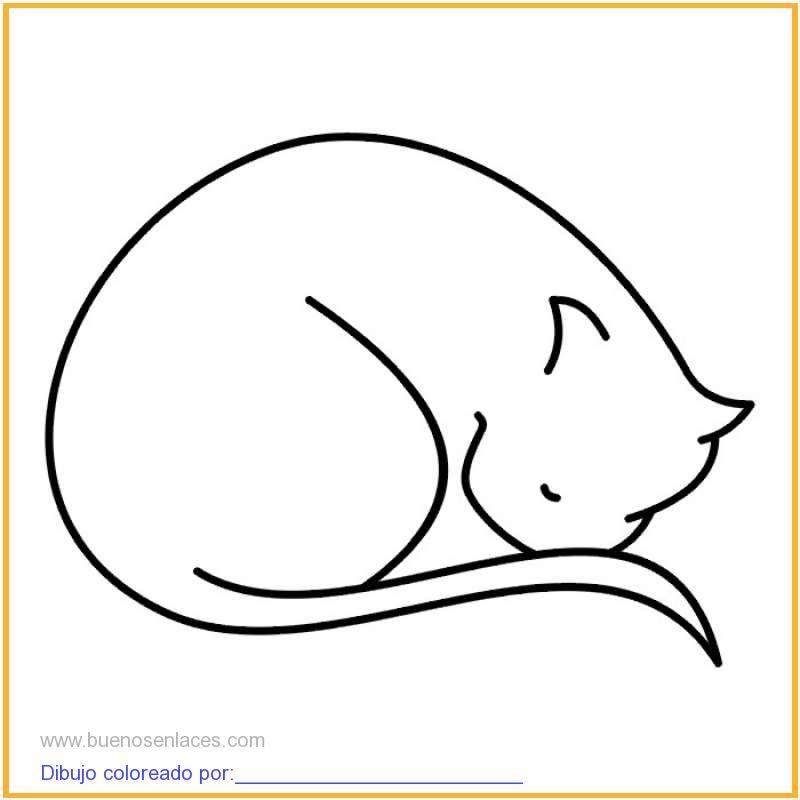 Excelente Hojas Para Colorear De Gatos Ilustración - Páginas Para ...