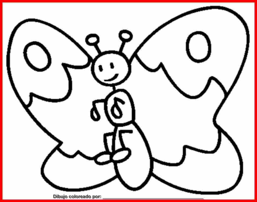 mariposas para colorear PULSAR SOBRE LA IMAGEN PARA IMPRIMIR