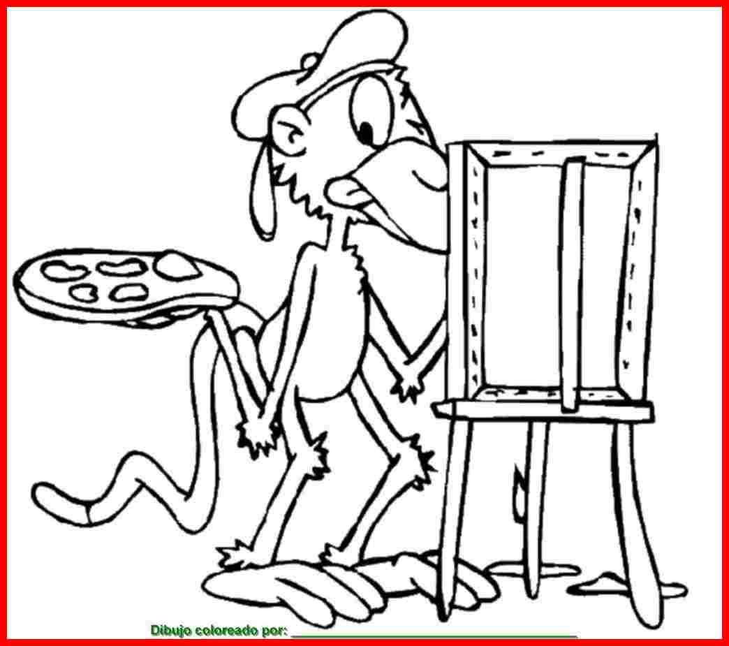 dibujo de mono para colorear e imprimir