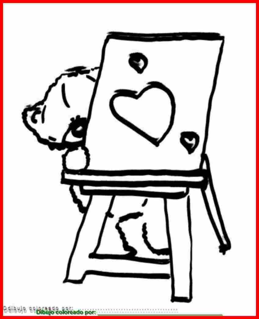 dibujo de corazones para colorear e imprimir