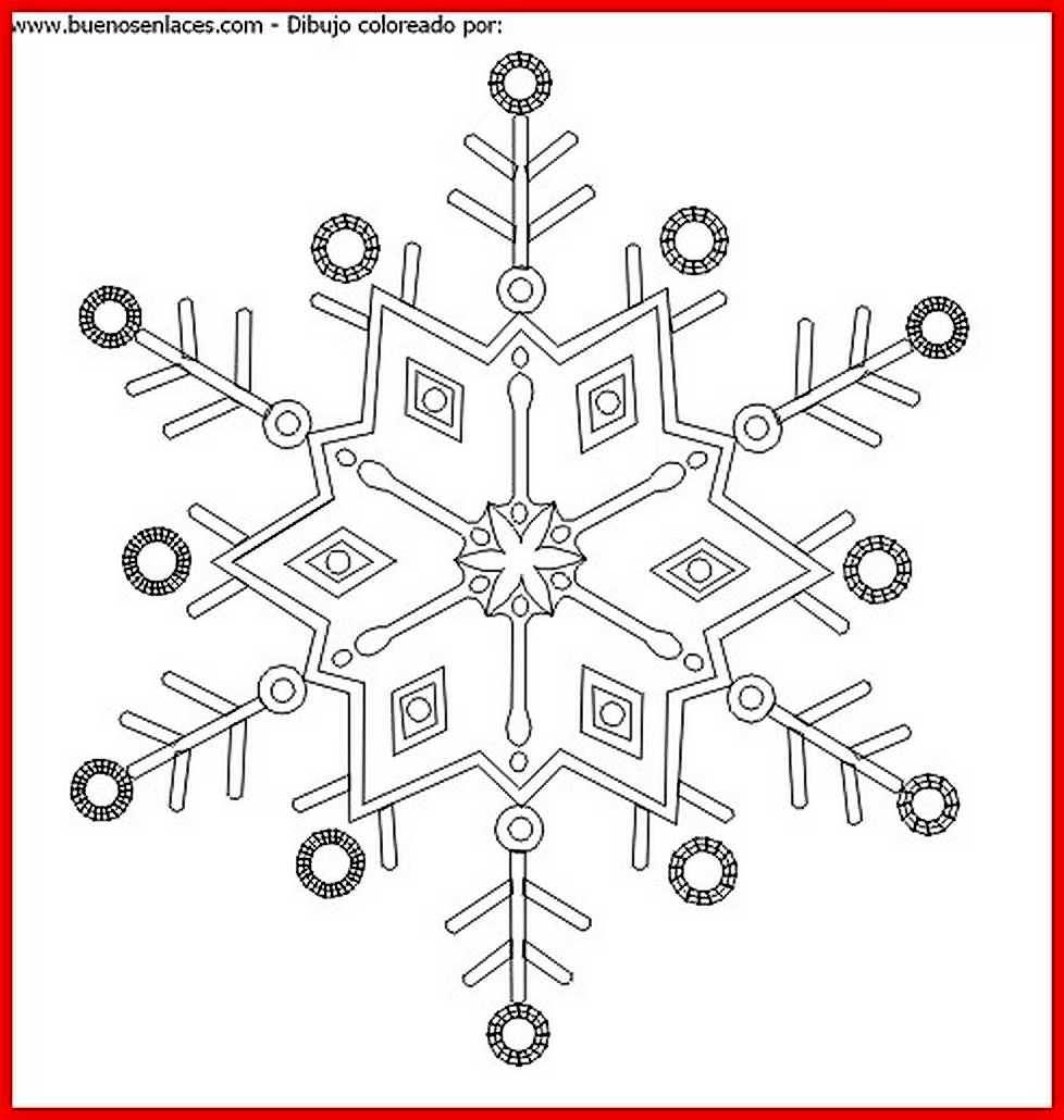 Moderno Imágenes De Nieve Para Colorear Ideas - Dibujos Para ...