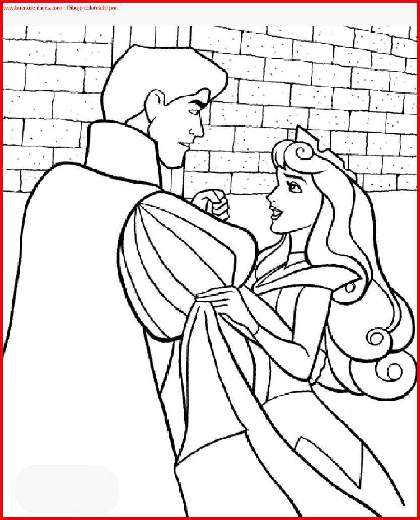 dibujo de princesa disney para colorear e imprimir.