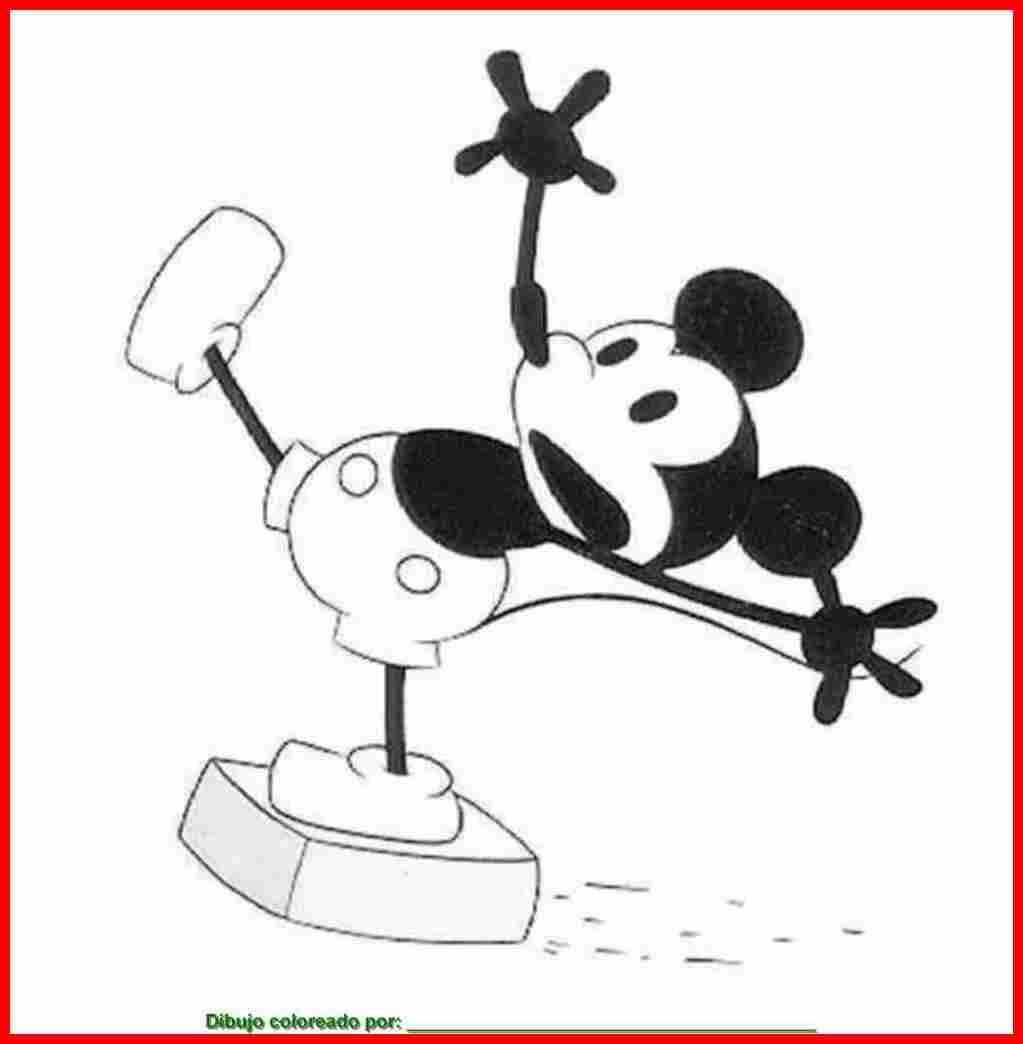 Dibujo De Miki Maus Para Colorear E Imprimir