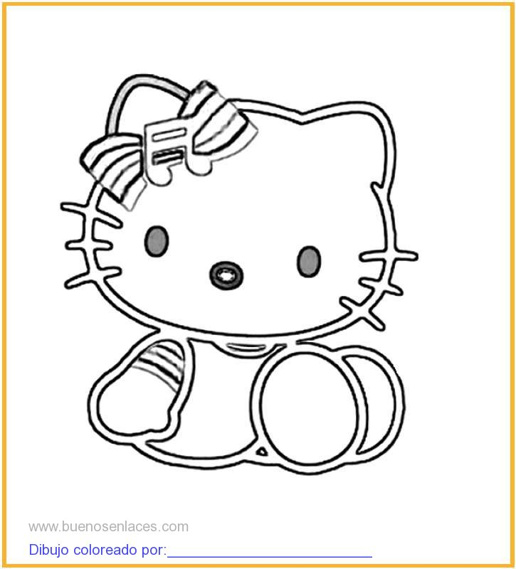 Dibujo de hello kitty - Hello kitty drawing - YouTube
