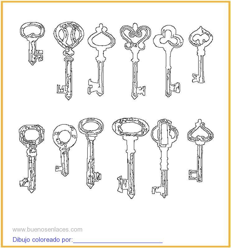 llaves tipos: