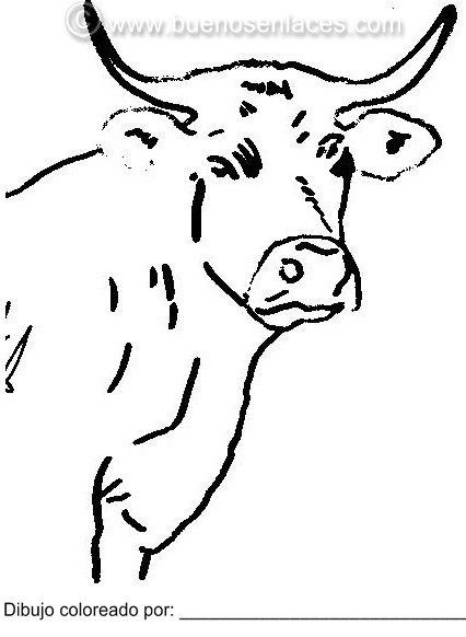 Pulsa En La Imagen Para Imprimir El Dibujo Del Vaca
