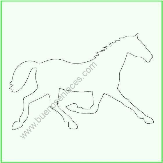 Worksheet. Dibujos de caballos para colorear