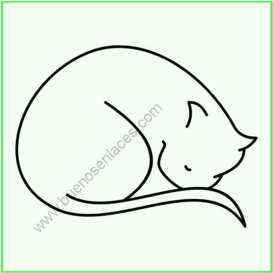 dibujos de gatos