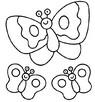 mariposas para imprimir