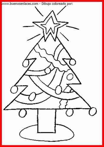 Dibujos de navidad para colorear - Dibujos de arboles de navidad ...