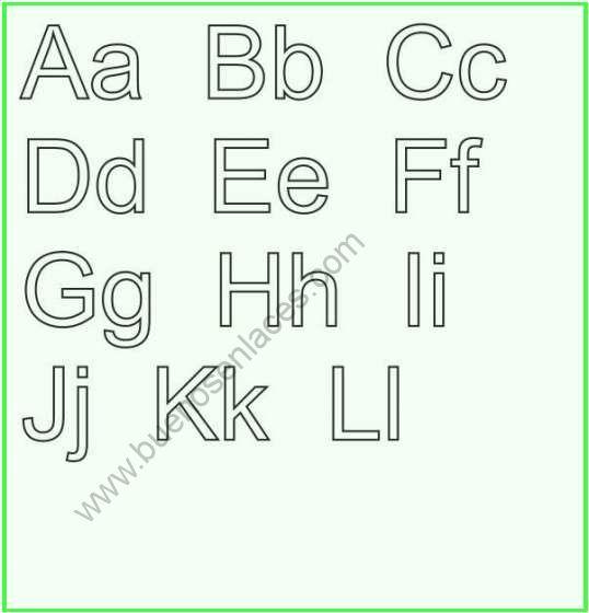 dibujos de abecedario