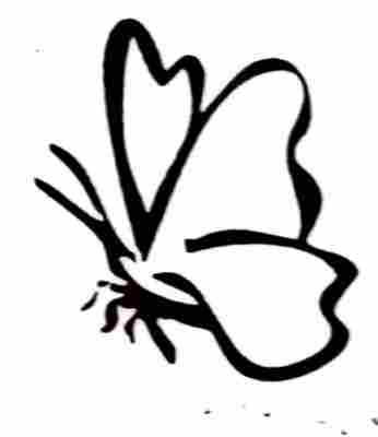 foto tatuaje mariposa. más tatuajes: mariposa, tatuajes de alas,