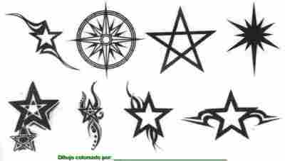 Imagenes De Estrellas Para Tatuajes