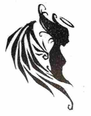 mujer con tatuajes. más tatuajes: mujer, mujeres, tatuajes de figuras, personas, alas, mujeres