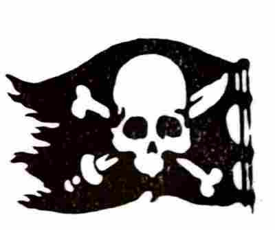 más tatuajes: banderas piratas, piratas, tatuajes de calaveras, muerte,