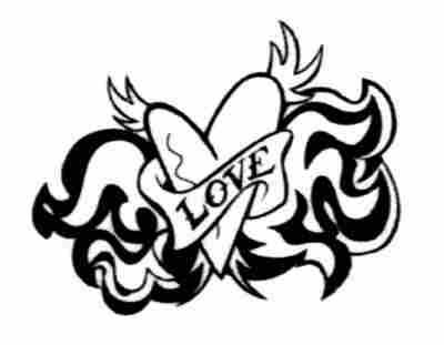amor tattoos. amor corazon. tatuaje de