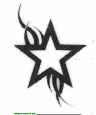 tattoo estrellas. tatuajes estrellas, nº 3