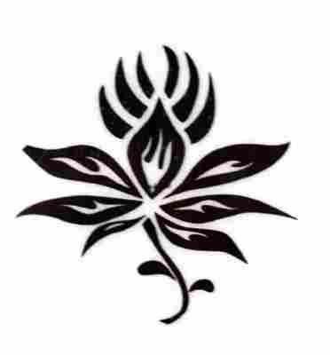 fotos de tatuajes de flores. más tatuajes: tatuajes de flores, flor, flowers, plantas,