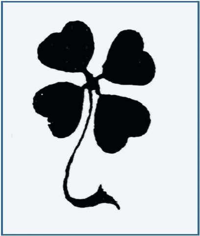 tatuajes de treboles de cuatro hojas